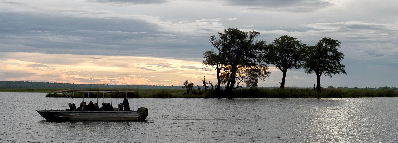 Sun Set Chobe River